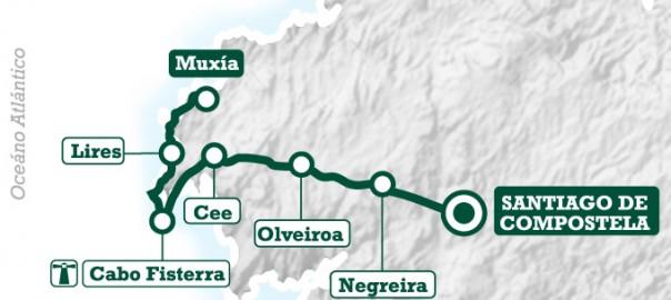 Ruta Camino de Santiago Fisterra-Muxía