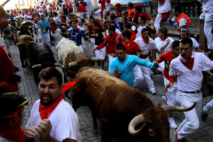 San Fermines 2011 one of the most popular festivities in Spain
