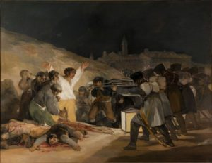 "The ""Fusilamientos del 3 de Mayo"" of Francisco de Goya"