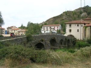 Trinidad de arre, roncesvalles to pamplona, bicycle, french way