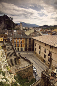 Views from the church of San Pedro de la Rúa