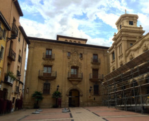 La Rioja Museum in the city of Logroño