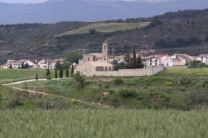 Views of Uterga village at the entrance