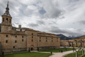 Monastery of San Millán de la Cogolla in the French Way