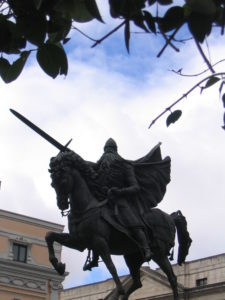 Statue of the Cid in Burgos