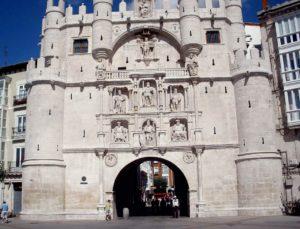 Santa María Arc in Burgos