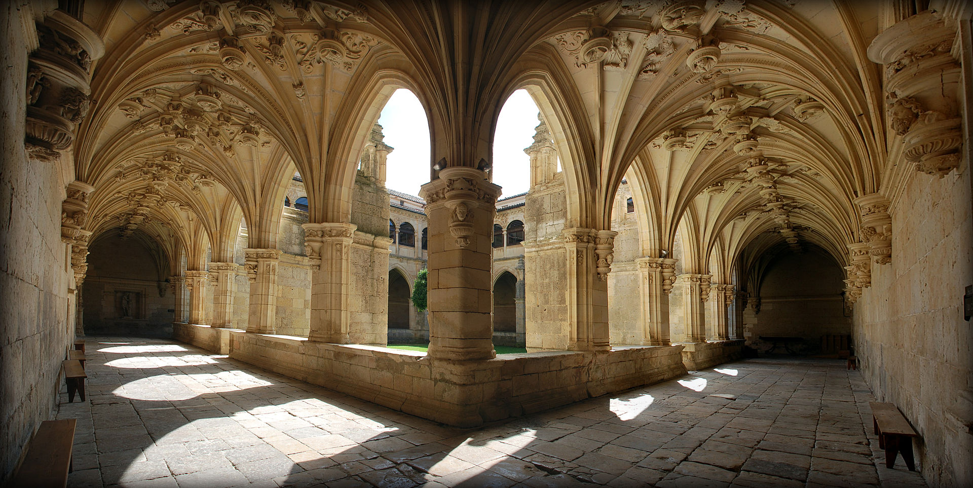 Cloister of the San Zoilo Monastery