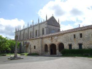 Exterior of the Cartuja de Miraflores in Burgos