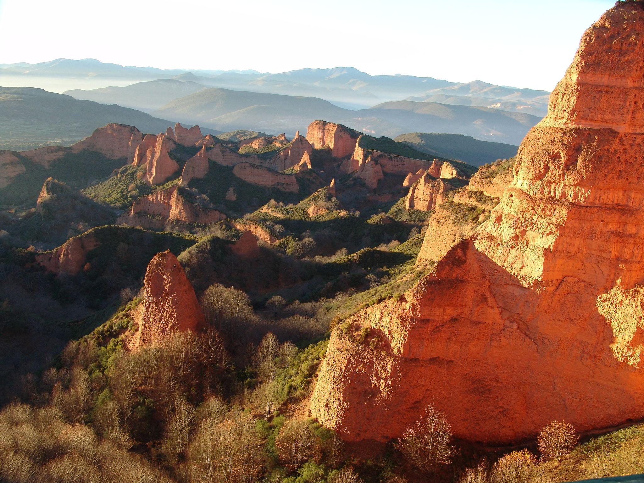 Las Médulas panoramic