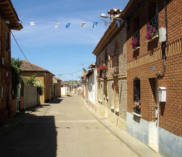 Village of Calzadilla de la Cueza