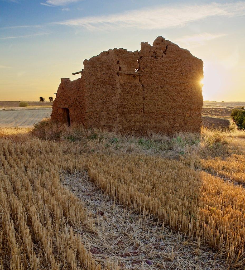 Ruinas de un antiguo palomar (Fotografía cedida por Jonathan Pincas)