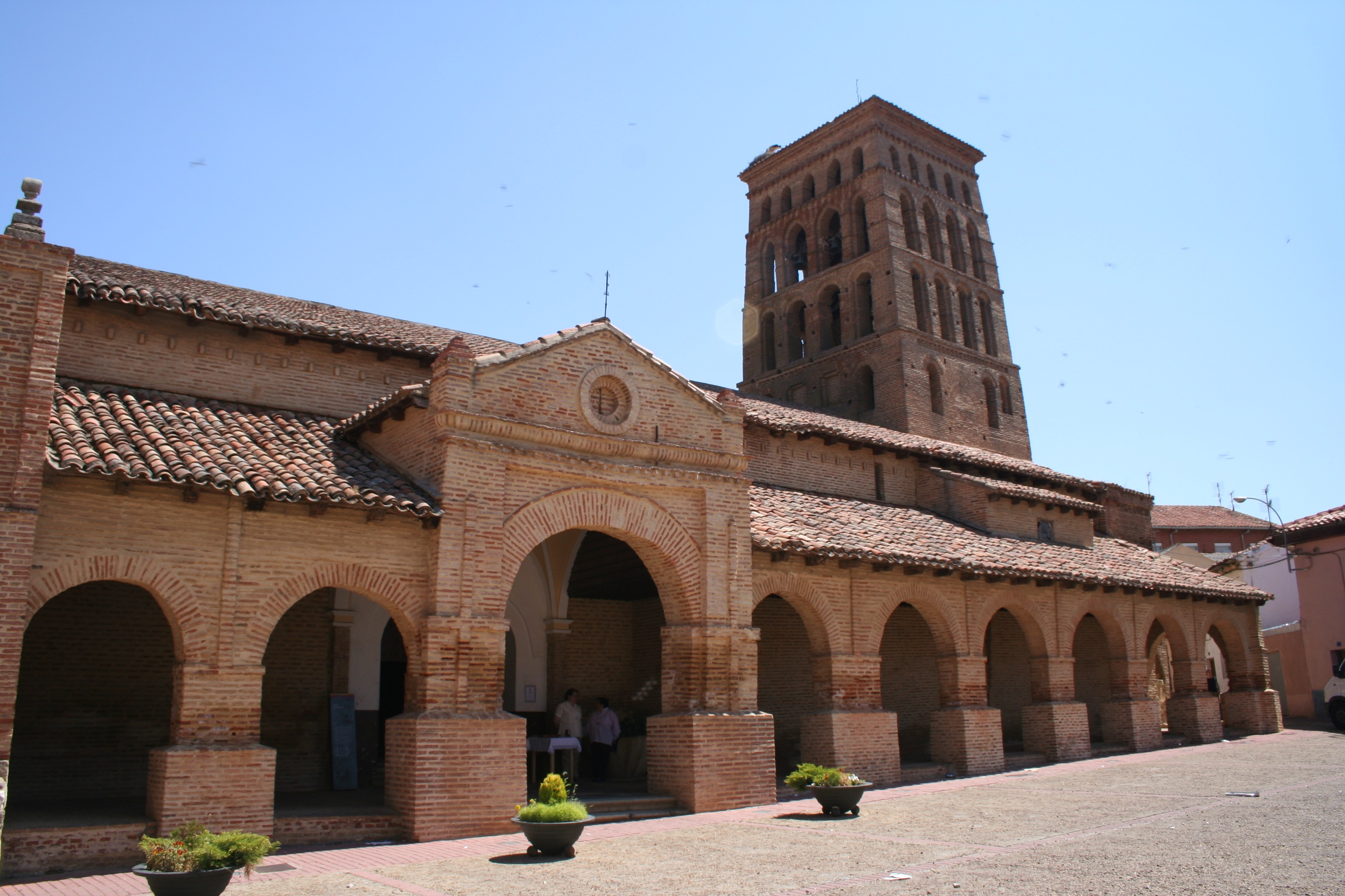 The Church of San Tirso in Sahagún