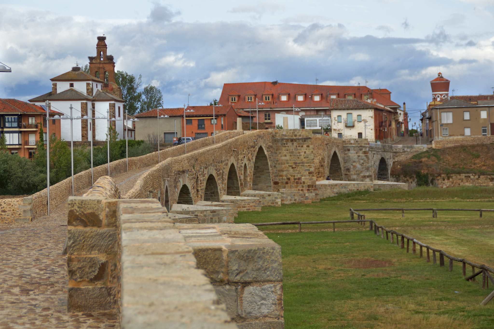 Bridge of the Paso Honroso in Hospital de Órbigo
