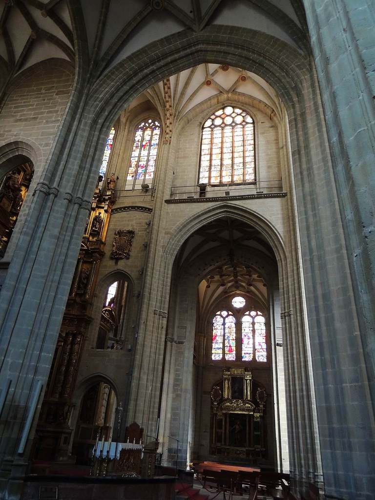 Inside of the Cathedral of Astorga