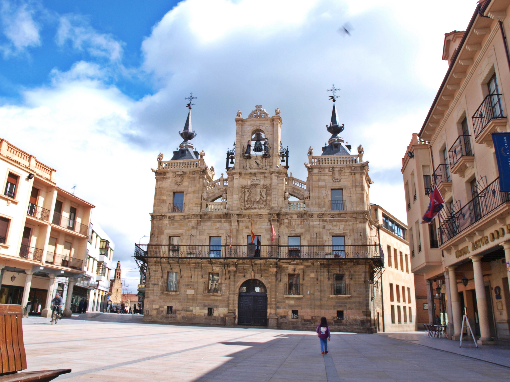 Mayor Square in Astorga