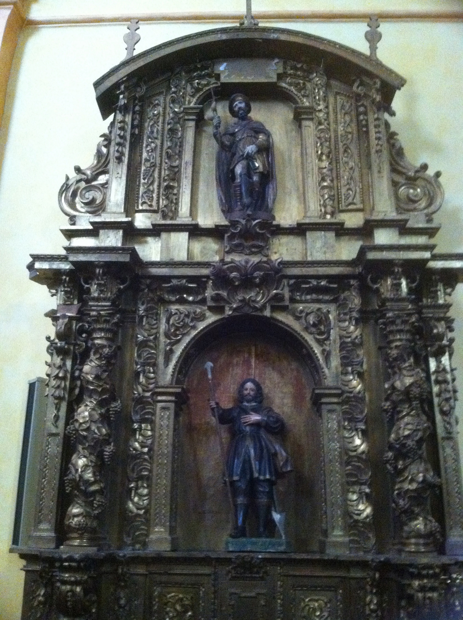 Altarpiece at the Church of San Juan Bautista