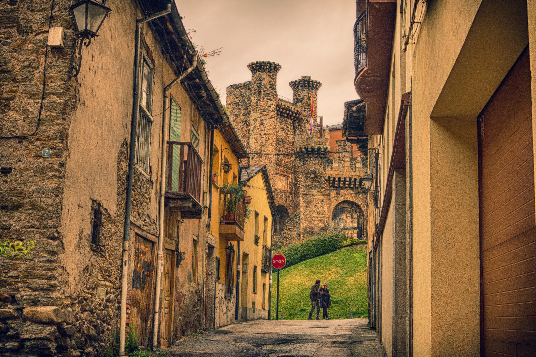 Old neighborhood of Ponferrada