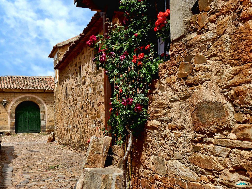 House of stone in the Castrillo de Polvazares