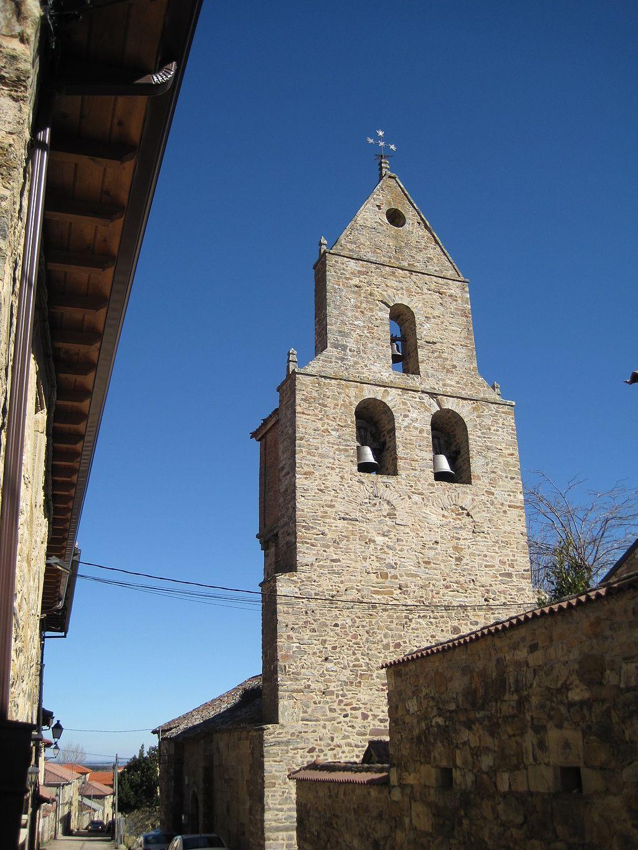 Church of Nuestra Señora de la Asunción in Rabañal del Camino