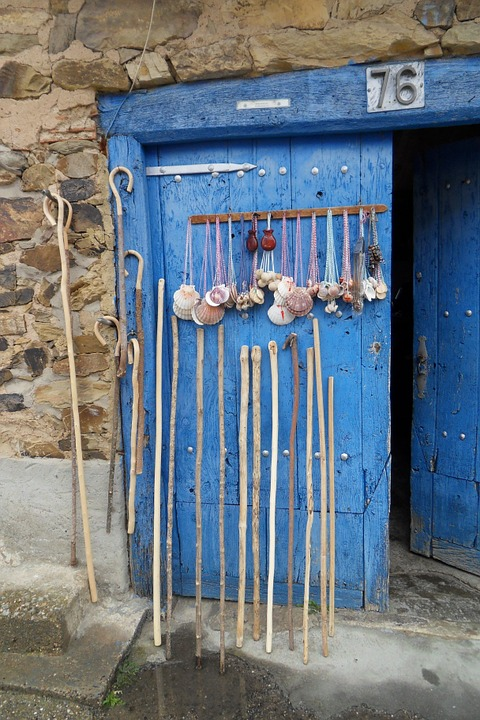 Bienvenido's house's door in Catalina de Somoza