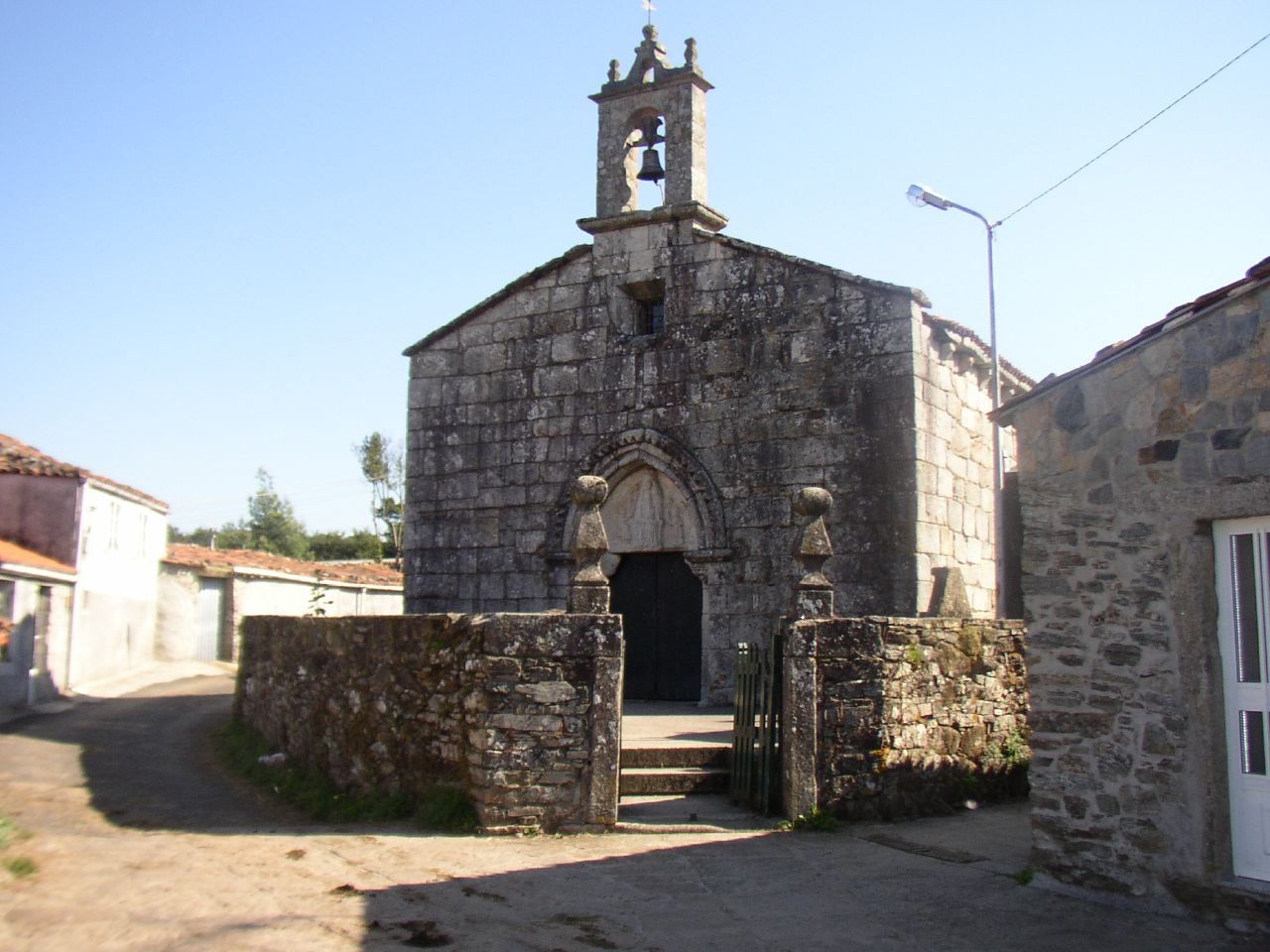 Church of Santa María in Leboreiro