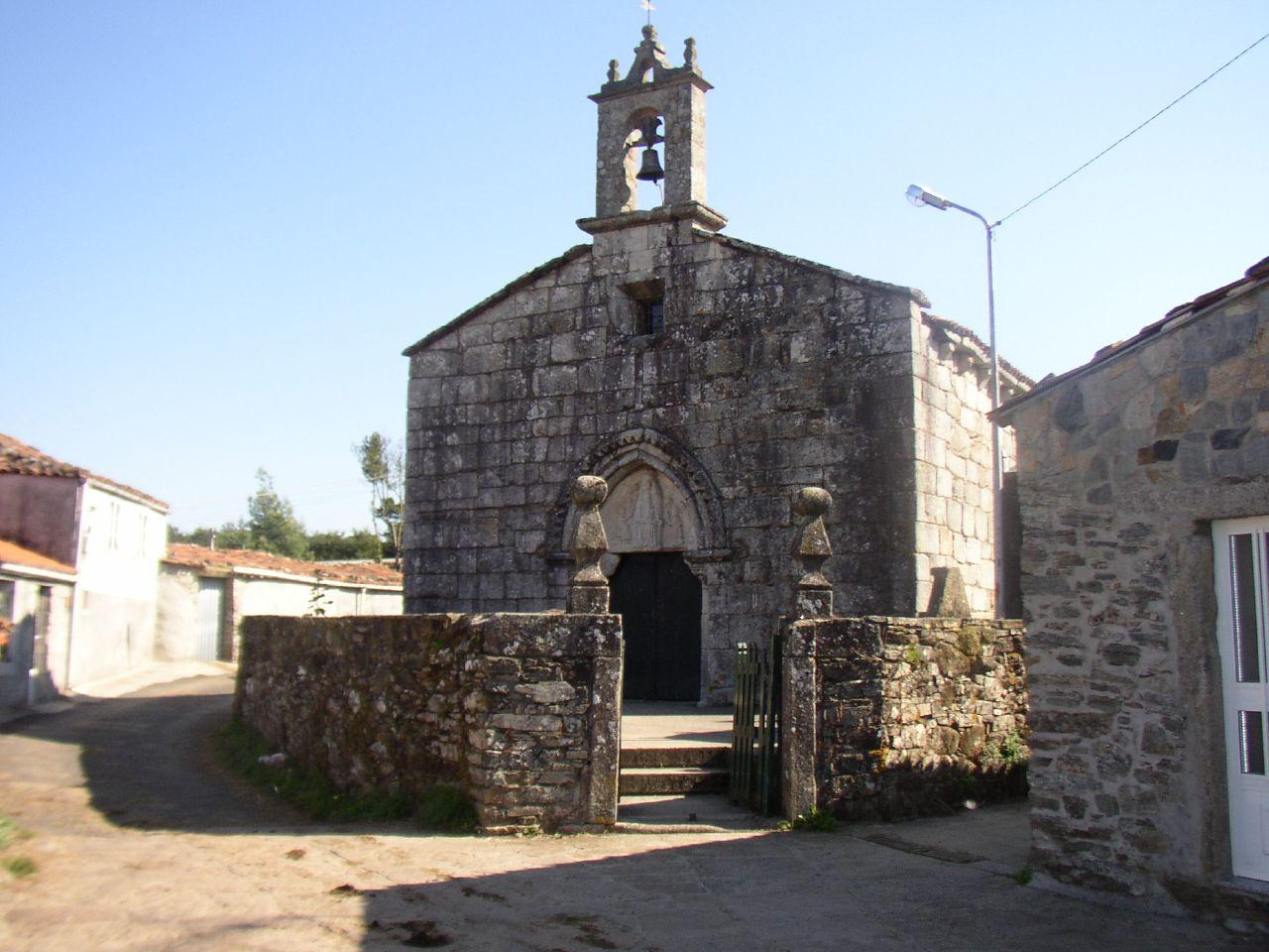 Iglesia de Santa María en Leboreiro