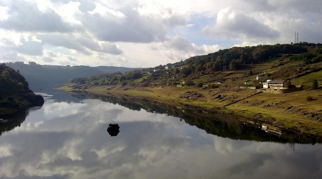 River Miño in Portomarín