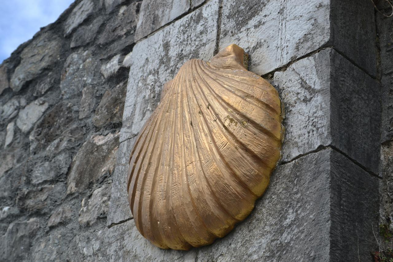 Concha del Camino de Santiago