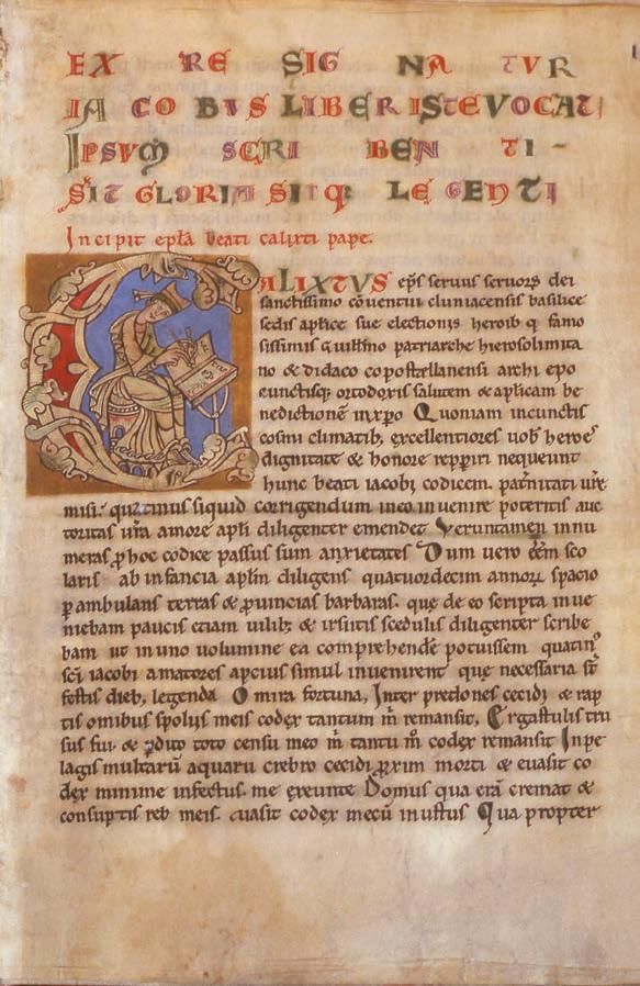 Il termine Ultreia si trova nel Códice Calixtino.