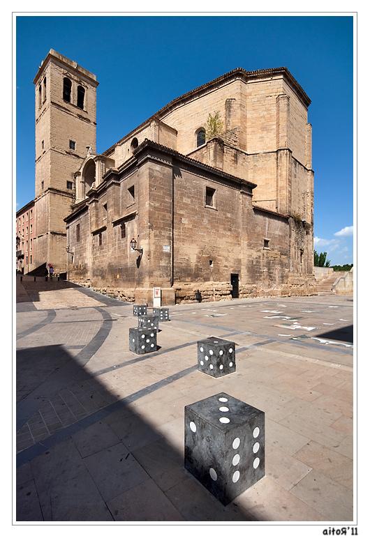 Piazza dell'Oca, Logroño, per Aitor Escauriza